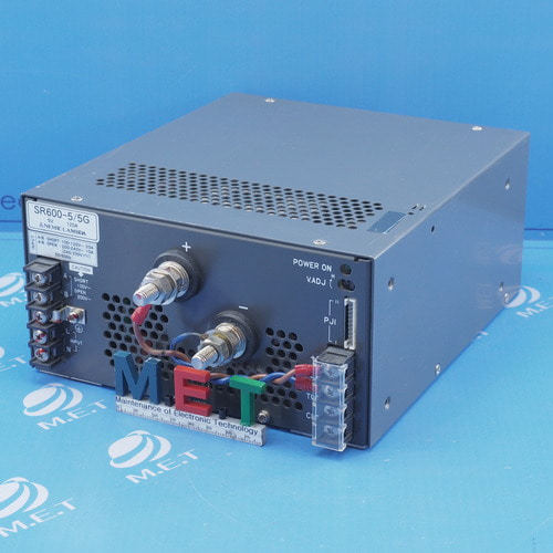 NEMIC LAMBDA 5V 120A Power supply SR600-5/5G 중고